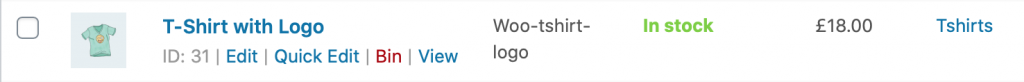 WooCommerce Duplicate Product Button Removed